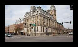 Photograph of the Wayne County Common Pleas Courthouse in Wooster, Ohio